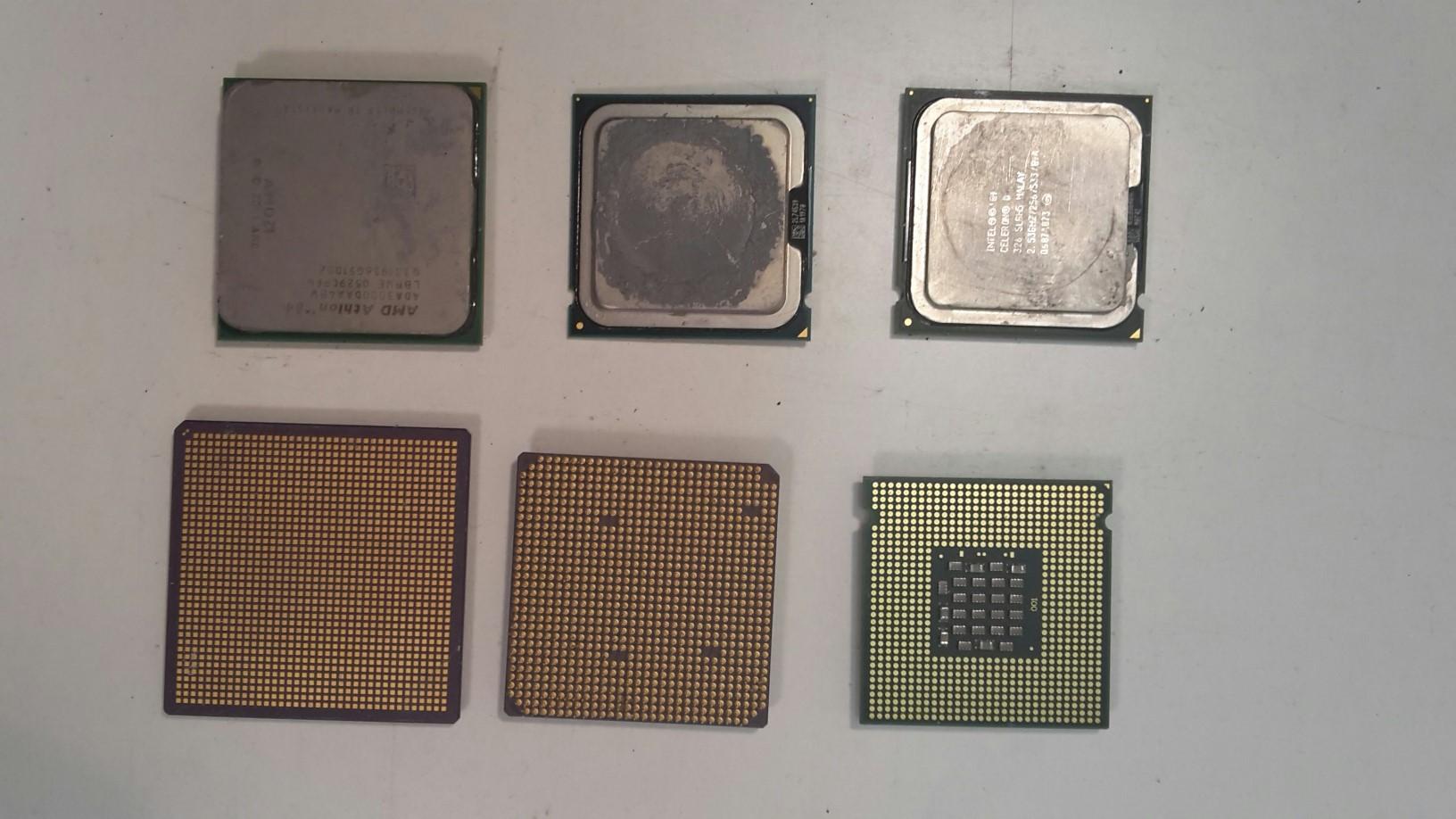 CPU s Cu dostičkou