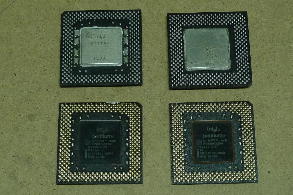 CPU platové čierne