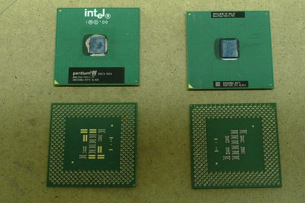 CPU plastové zelené