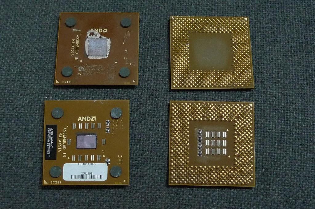CPU plastové hnedé