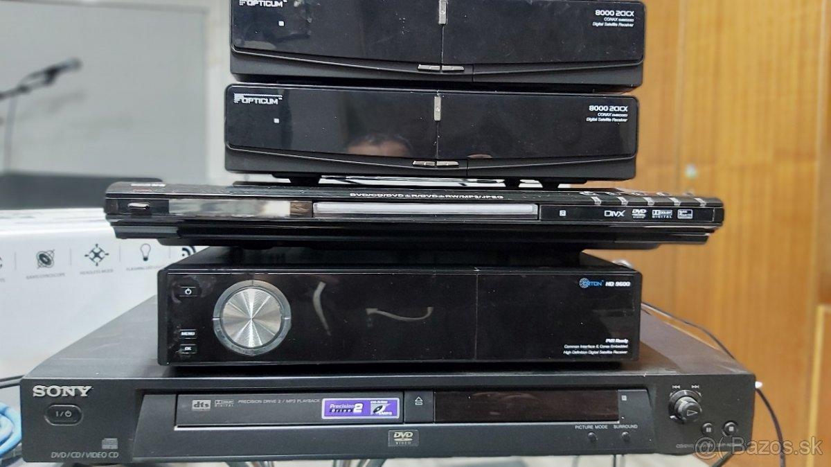 Set-top boxy, DVD prehrávače
